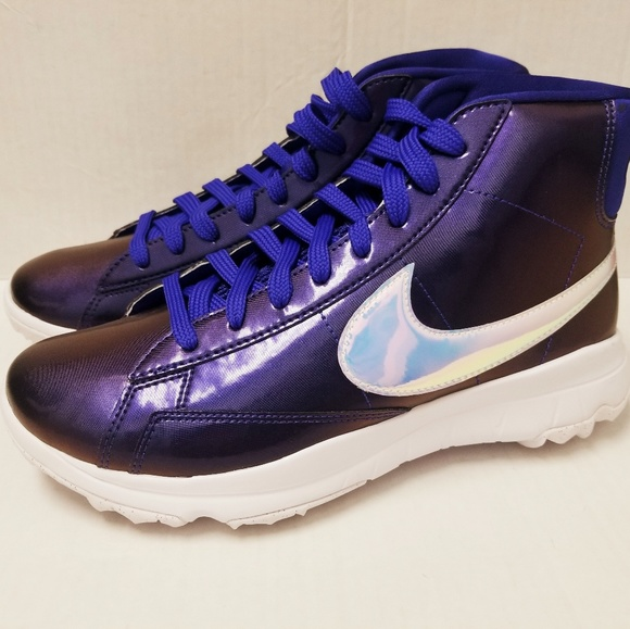 finest selection 49bc8 04f03 Nike Womens Blazer Golf Sneakers Size 7.5